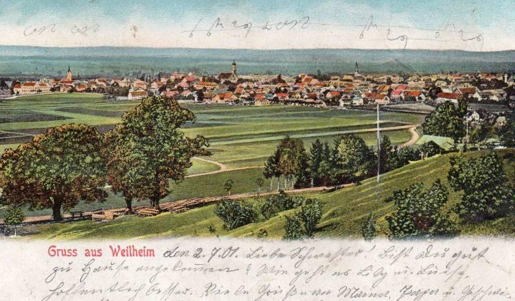 Weilheim Gögerl 1901