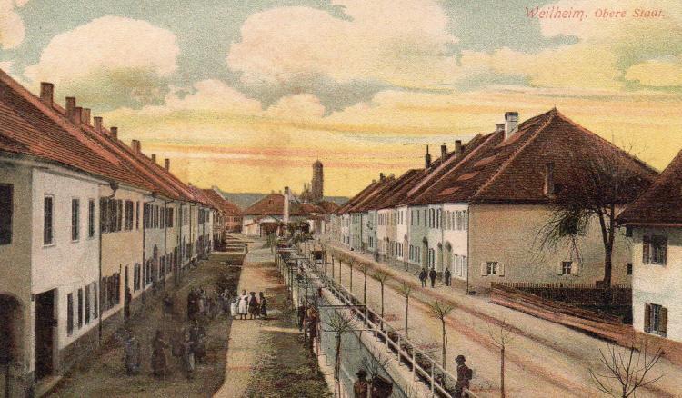 Weilheim Obere Stadt